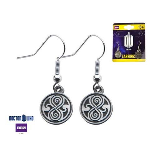 Doctor Who: Seal of Rassilon (Gallifrey) Dangle Style Earrings