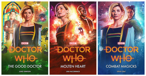 Doctor Who 13th Doctor (Jodie Whittaker) Hardcover Book set of 3 - BBC Series Books