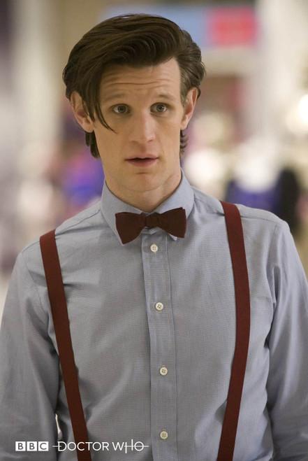 Doctor Who: ELEVENTH Doctor's (Matt Smith) Burgundy Suspenders (Braces) from Abbyshot (Size XXL)