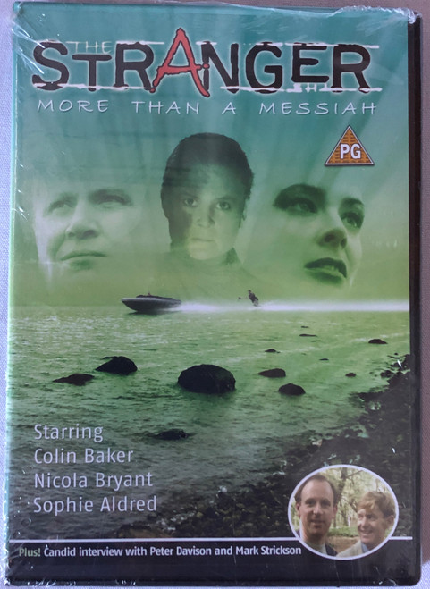 BBV Video Series (Doctor Who Spin-Off) - The STANGER More than a Messiah (Starring Colin Baker) on DVD