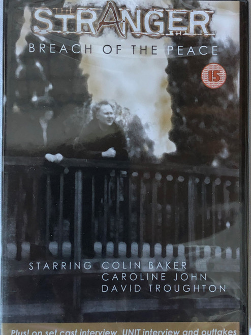 BBV Video Series (Doctor Who Spin-Off) - The STANGER Breach of the Peace (Starring Colin Baker) on DVD