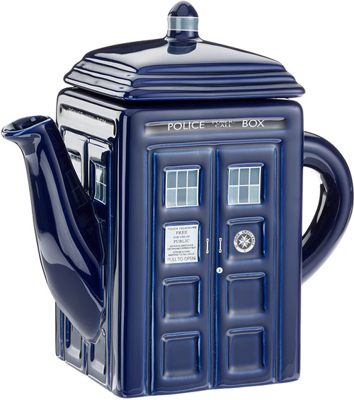 Doctor Who TARDIS Ceramic Teapot (Last Few)