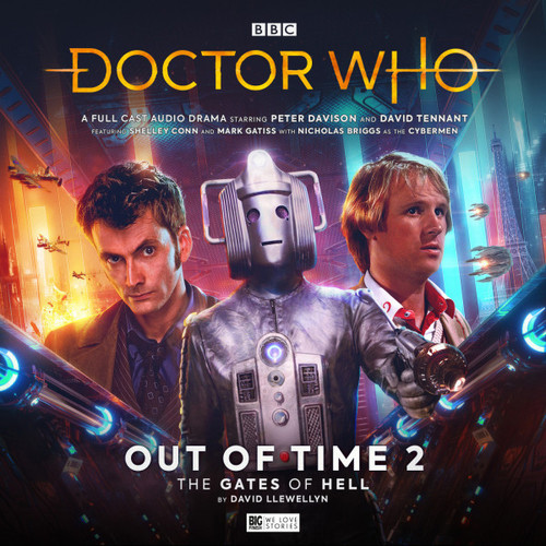 Doctor Who: OUT OF TIME 2 - Starring Peter Davison & David Tennant - Big Finish Audio CD