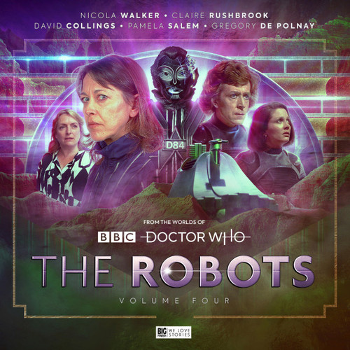 Doctor Who - The ROBOTS 4 - Big Finish Audio CD Boxed Set