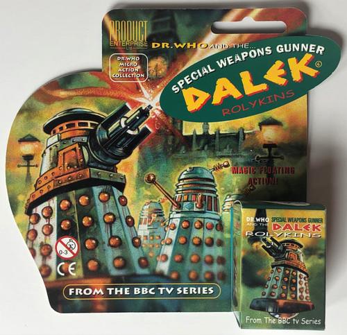 Rolykin TV Dalek by Product Enterprise in Display Box  - SPECIAL WEAPONS GUNNER DALEK