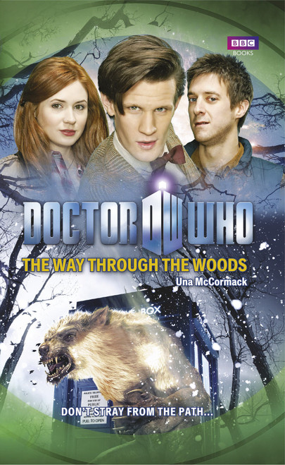Doctor Who BBC Books Paperback - THE WAY THROUGH THE WOODS - 11th Doctor (Matt Smith)