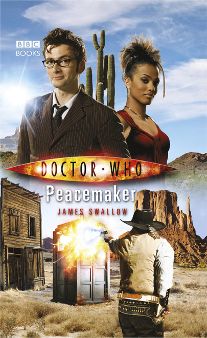 Doctor Who BBC Books Paperback - PEACEMAKER - 10th Doctor (David Tennant)