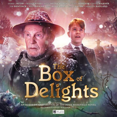 BOX of DELIGHTS - Big Finish Limited  Audio CD Boxed Set Starring Derek Jacobi