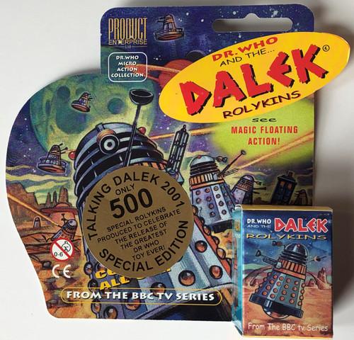 Rolykin Dalek by Product Enterprise in Display Box  - TALKING DALEK PROMO (Limited to 500)