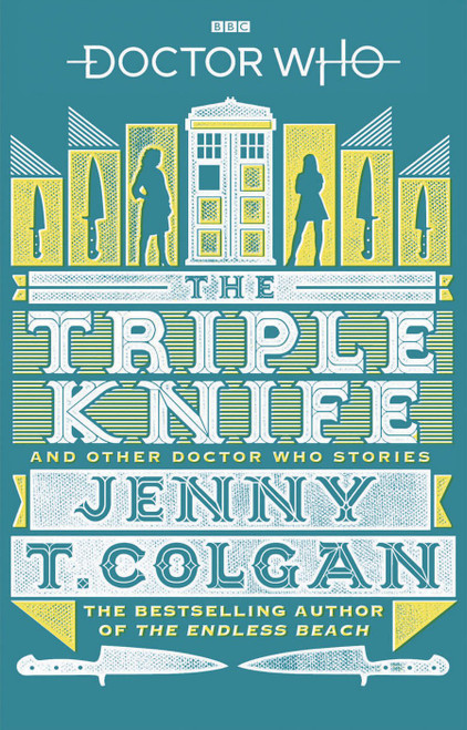 Doctor Who BBC Paperback Book - TRIPLE KNIFE by Jenny T Colgan