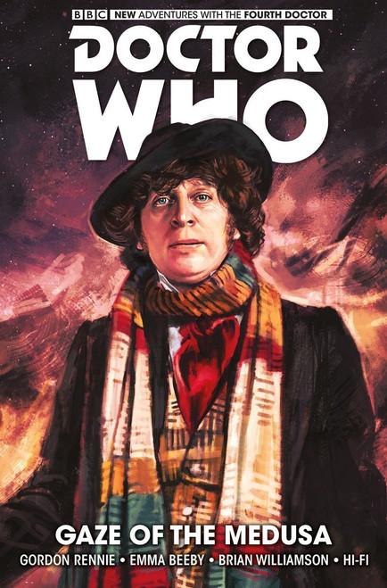 Doctor Who: The Fourth Doctor - Volume #1 - GAZE OF MEDUSA (Hard Cover Graphic Novel)