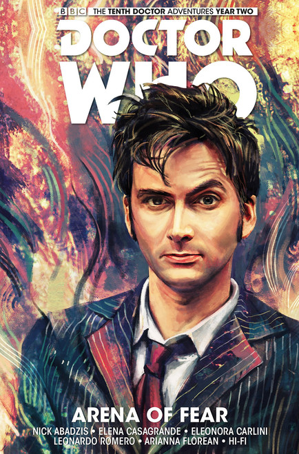 Doctor Who: The Tenth Doctor - Volume #5 - ARENA OF FEAR (Hard Cover Graphic Novel)
