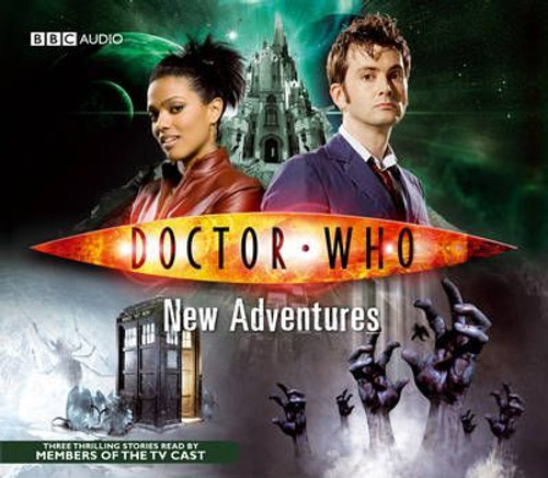 Doctor Who: Three New Adventures on BBC Audio CD Boxed Set - 10th Doctor (David Tennant) and Martha Jones (Freema Agyeman)