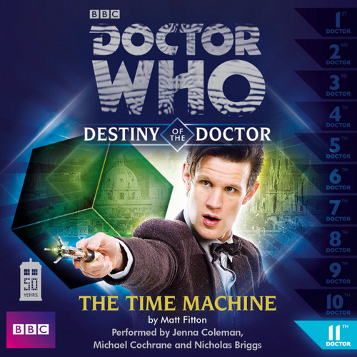Doctor Who - Destiny of the Doctor #11: THE TIME MACHINE - Big Finish Audio CD