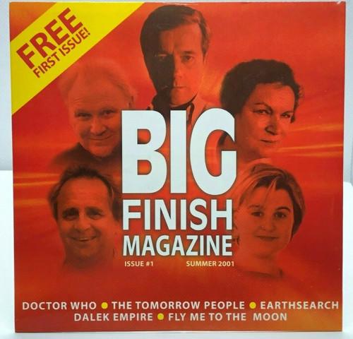 BIG FINISH CD MAGAZINE - UK Imported Promotional audio ISSUE #1
