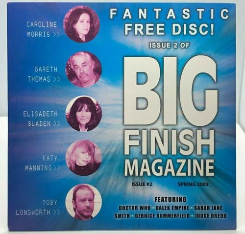 BIG FINISH CD MAGAZINE - UK Imported Promotional audio ISSUE #2