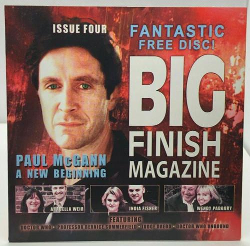 BIG FINISH CD MAGAZINE - UK Imported Promotional audio ISSUE #4