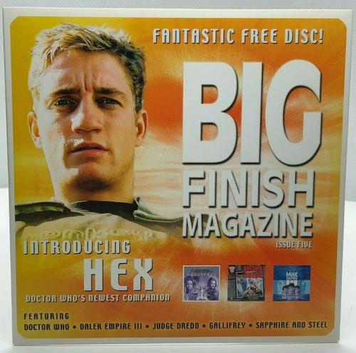 BIG FINISH CD MAGAZINE - UK Imported Promotional audio ISSUE #5