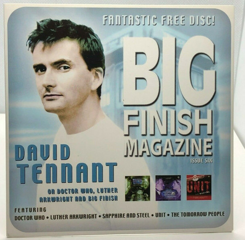 BIG FINISH CD MAGAZINE - UK Imported Promotional audio ISSUE #6