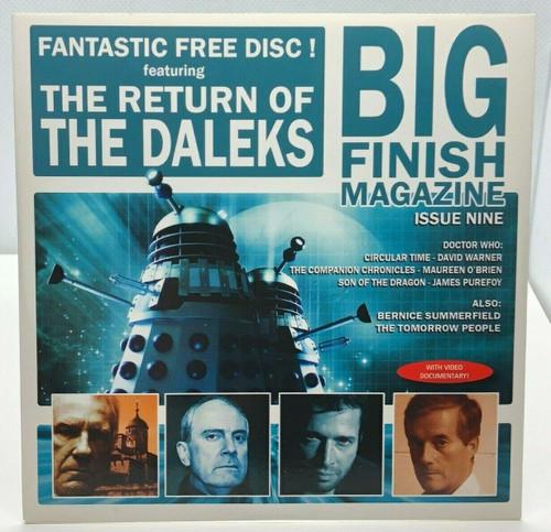 BIG FINISH CD MAGAZINE - UK Imported Promotional audio ISSUE #9