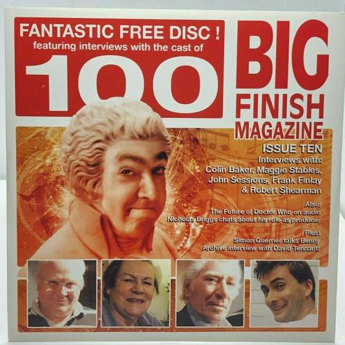 BIG FINISH CD MAGAZINE - UK Imported Promotional audio ISSUE #10