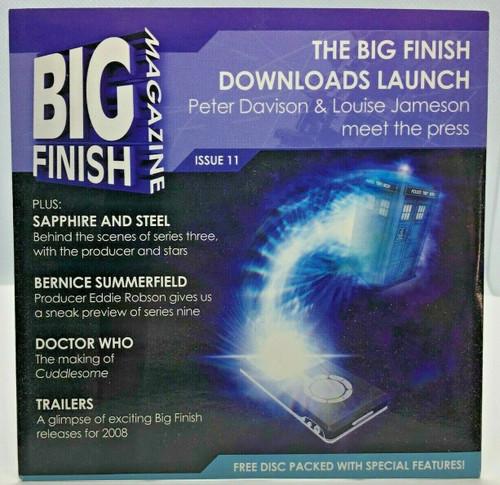 BIG FINISH CD MAGAZINE - UK Imported Promotional audio ISSUE #11