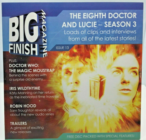 BIG FINISH CD MAGAZINE - UK Imported Promotional audio ISSUE #13