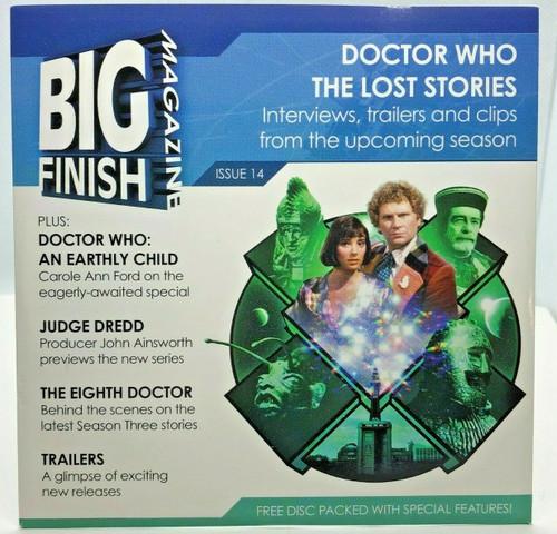 BIG FINISH CD MAGAZINE - UK Imported Promotional audio ISSUE #14