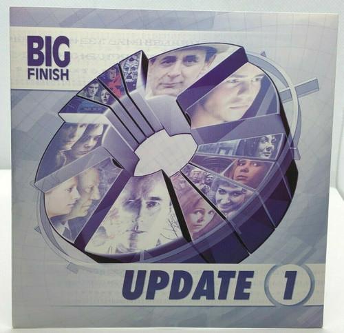 BIG FINISH CD MAGAZINE - UK Imported Promotional audio UPDATE ISSUE #1