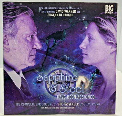 BIG FINISH CD MAGAZINE - UK Imported Promotional audio SAPPHIRE & STEEL Issue #1