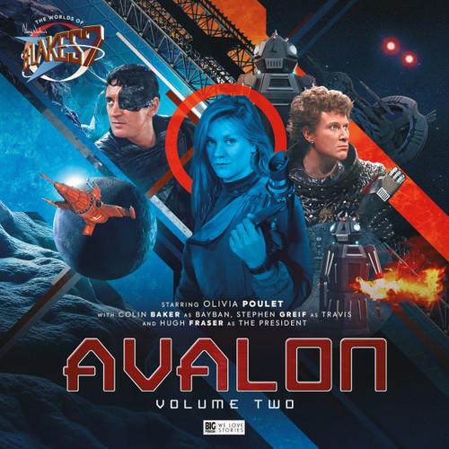 The Worlds of Blake's 7: AVALON Volume #2 - Big Finish Audio CD Set