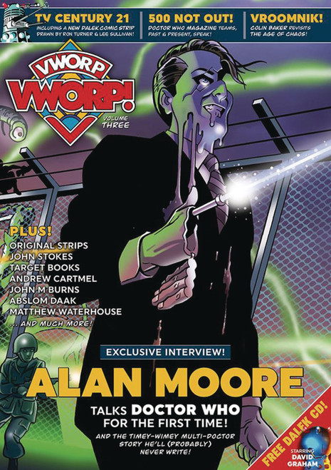 "VWROP VWROP UK Imported Magazine Volume #3 w/FREE CD ""The Mechanical Planet"""