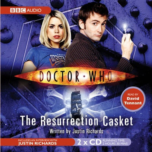 Doctor Who: RESURRECTION CASKET - BBC Audio Book on CD read by David Tennant