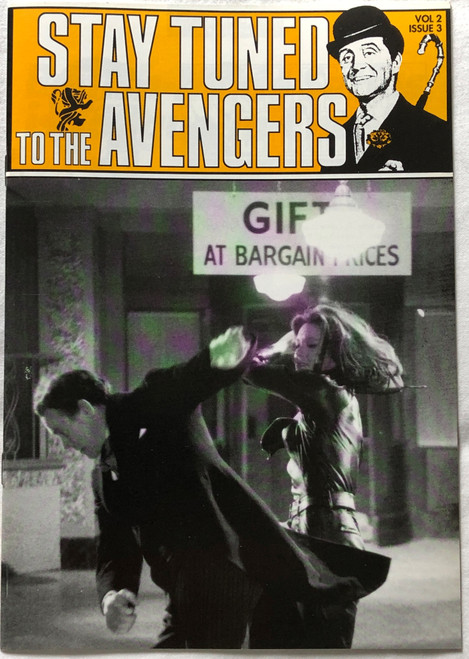 The AVENGERS (British TV Series) Stay Tuned Magazine Volume 2 Issue #3