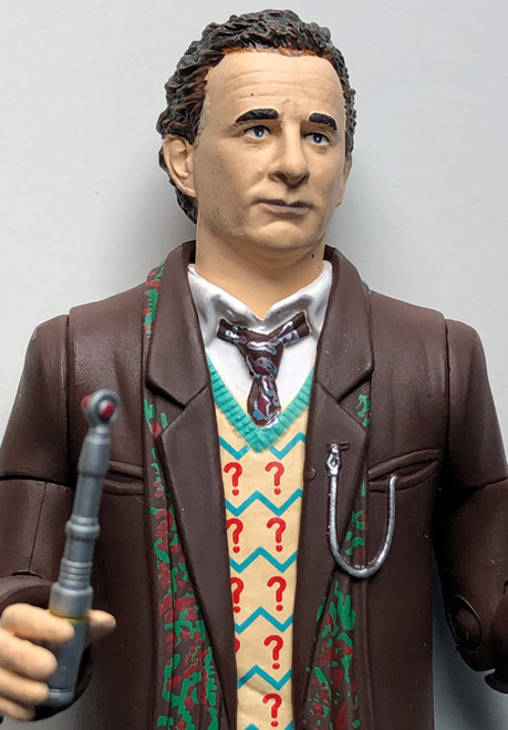 Doctor Who Action Figure - 7th DOCTOR (Sylvester McCoy) as seen in GHOSTLIGHT - Unpackaged