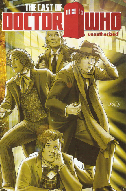 The Cast of Doctor Who Unauthorized - Bluewater Productions Deluxe Comic Book from 2012