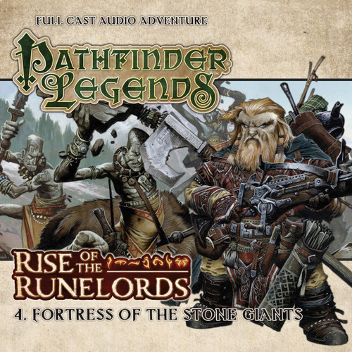 Pathfinder Legends - Rise of the Runelords #1.4 FORTESS OF THE STONE GIANTS - Big Finish Audio CD