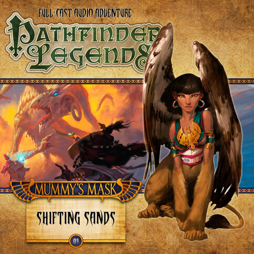 Pathfinder Legends - Mummy's Mask #2.3 SHIFTING SANDS - Big Finish Audio CD