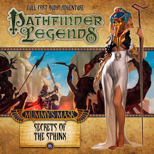 Pathfinder Legends - Mummy's Mask #2.4 SECRET OF THE SPHINX - Big Finish Audio CD