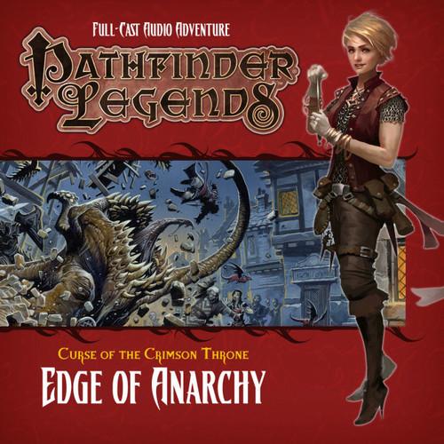 Pathfinder Legends - Curse of the Crimson Throne #3.1 EDGE OF ANARCHY - Big Finish Audio CD