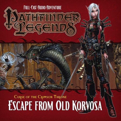 Pathfinder Legends - Curse of the Crimson Throne #3.3 ESCAPE FROM OLD KORVOSA - Big Finish Audio CD