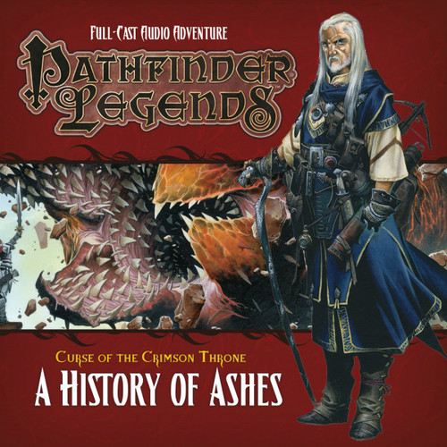 Pathfinder Legends - Curse of the Crimson Throne #3.4 A HISTORY OF ASHES - Big Finish Audio CD