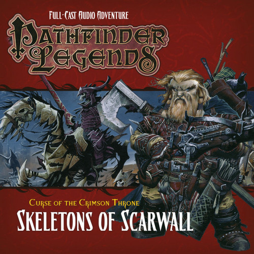 Pathfinder Legends - Curse of the Crimson Throne #3.5 SKELETONS OF SCARWALL - Big Finish Audio CD