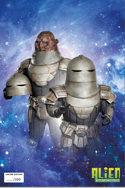Doctor Who Titan Comic Book: EMPIRE OF THE WOLF - Issue #1 (Alien Entertainment Exclusive Photo Cover - Limited Edition of only 250)