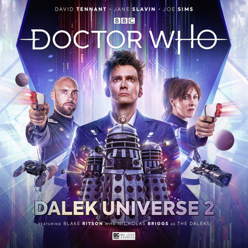 Doctor Who DALEK UNIVERSE Volume 2  Limited VINYL Edition  from Big Finish Starring David Tennant