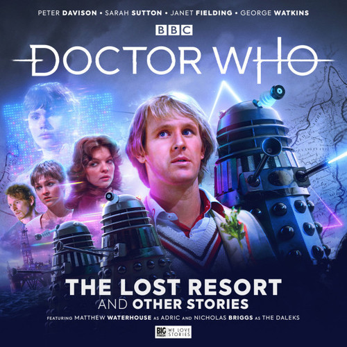 Doctor Who: The Fifth Doctor Adventures THE LOST RESORT AND OTHER STORIES - Big Finish Audio CD Boxed Set Starring Peter Davison