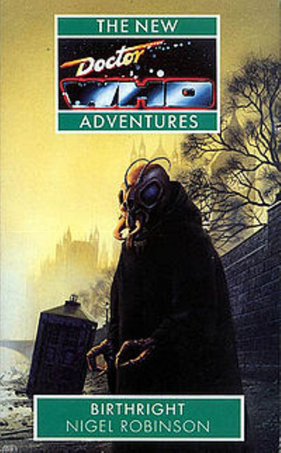 Doctor Who New Adventures Paperback Book - BIRTHRIGHT by Nigel Robinson