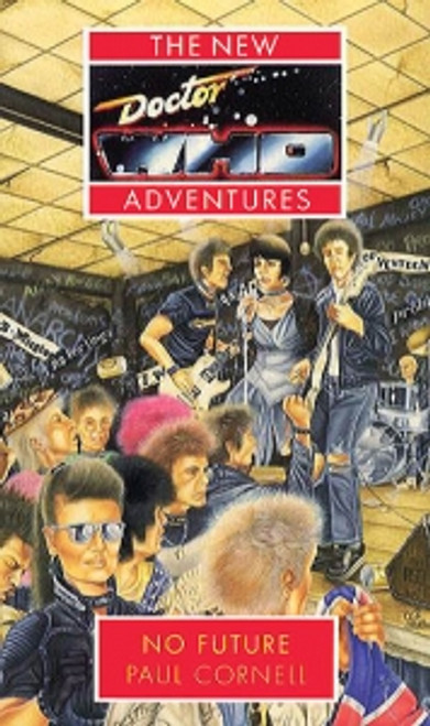 Doctor Who New Adventures Paperback Book - NO FUTURE