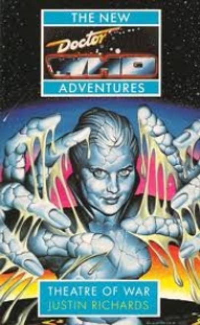 Doctor Who New Adventures Paperback Book - THEATRE OF WAR by Justin Richards