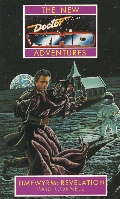 Doctor Who New Adventures Paperback Book - TIMEWYRM: REVELATION